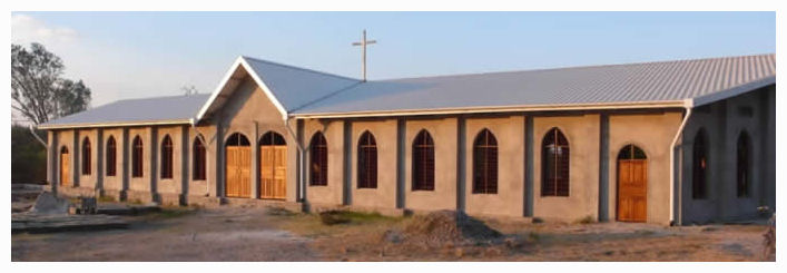 structural steel church design